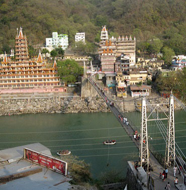 laxmanjhula bridge rishikesh